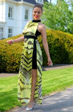 Mini and Maxi dress