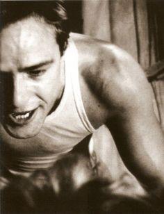 Marlon Brando. Being violent.A Street Car Name Desire. '51.