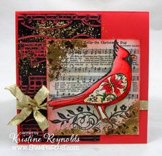 WOW! Stamping & Scrapping in California: I Hear the bells @stampendous  @coredinations