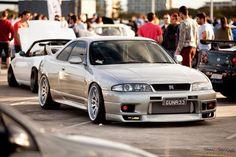 skyline r33 Nissan Skyline Gtr R33, Nissan R33, R33 Gtr, Nissan Infiniti, Drifting Cars, Japanese Cars, Modified Cars, Jdm Cars, Cool Cars