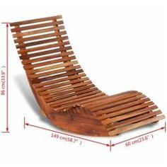 Relaxliege Details about Rocking Sun Chaise Lounge Outdoor Pool Deck Chair Wooden Sauna Relaxing Bed Woodworking Furniture, Pallet Furniture, Diy Woodworking, Furniture Projects, Furniture Design, Unique Wood Furniture, Outdoor Wood Furniture, Chair Design Wooden, Furniture Nyc
