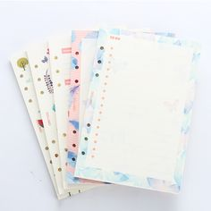 Cute original creative inner paper core for spiral planner notebook,cartoon 6 holes refiling inner paper stationery,5 kinds A5A6-in Notebooks from Office & School Supplies on Aliexpress.com | Alibaba Group
