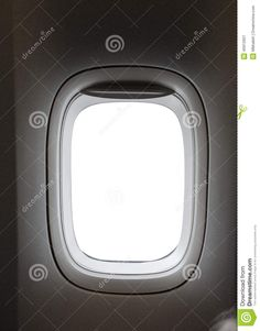 Airplane Window With White Isolated Area Inside - Download From Over 30 Million High Quality Stock Photos, Images, Vectors. Sign up for FREE today. Image: 40912921