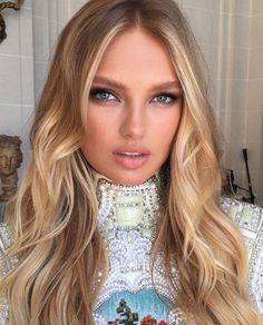 Love this natural blonde look