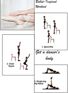 Ballet Inspired 10-Minute #Workout #Fitness #Health #Exercise #Workout