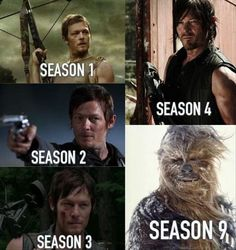 This just made me laugh so hard! I'm a huge fan of the walking dead and especially of Darryl! But this is hilarious!