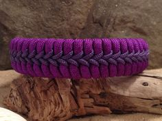 Fishtail Paracord Survival Bracelet with Center Stitching