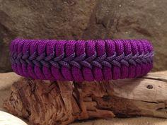 Fishtail Paracord Survival Bracelet with Center Stitching