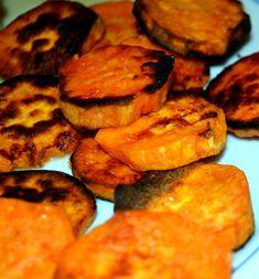 Crispy Roasted Sweet Potatoes