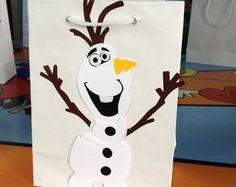 sacolinha personalizada Olaf