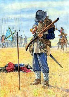 Scottish musketeer - La Pintura y la Guerra. Sursumkorda in memoriam Military Art, Military History, Renaissance, Medieval, Thirty Years' War, Early Modern Period, Landsknecht, Arm Armor, Modern Warfare