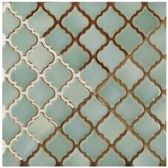 Merola Tile Hudson Tangier Mint Green in. x 5 mm Porcelain Mosaic Tile at The Home Depot - Mobile Online Tile Store, Mosaic Tiles, Green Tile Backsplash, Green Tiles, Mosaic Mirrors, Backsplash Ideas, Mosaic Art, Stone Tiles, Kitchen Tiles