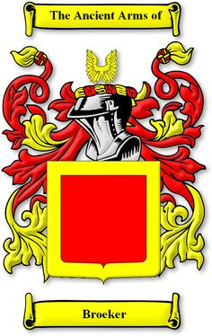 Broeker Coat of Arms