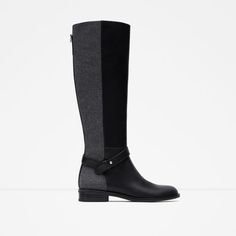 COMBINED HIGH BOOTS - View all - Woman - NEW IN | ZARA United States
