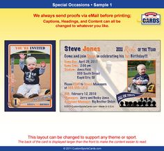 I Wanty Nuts Customized Sports Trading Cards Kids Sports Trading