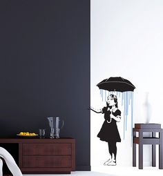 Banksy Long Way Home Wall Decal