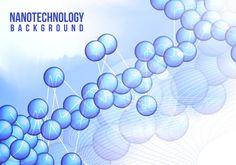 Nanotechnology Background Vector Free