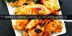 Baked Bang Bang Chicken Wings TWITTER