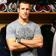 Washington Capitals hockey player Brooks Laich