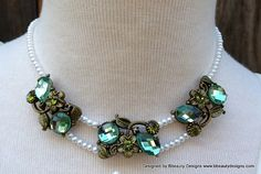 Tiana Princess Lily Dress Necklace for Child Custom by Bbeauty79, $45.00