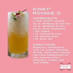 KINKY Ronnie D #KINKYLiqueur #RonDiaz