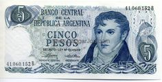 A picture of Argentina Currency Coins, Money, Retro, Banknote, Shakespeare, Florence, Samurai, Fun, Blog