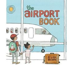 Follow a family and the youngest member's favorite sock monkey through all the inner and outer workings of an airport.  In a book that is...