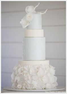 Chanel Winter White Cake