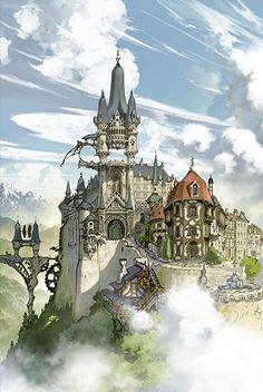 Drifting islands | Grand Blue Fantasy