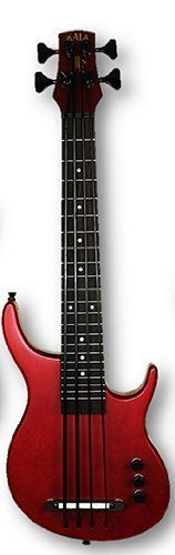 98dfee7e0e0 Kala SUB U-Bass Solid Body Bass Guitar Ukulele Red by Kala Ukulele. $449.00