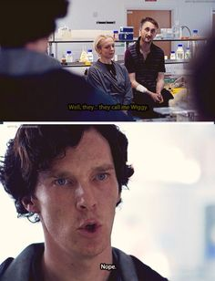 """That's rich coming from a man who calls himself """"Shezza"""" when he's undercover."""