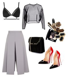 """Untitled #209"" by lisathephillygirl on Polyvore featuring Vilshenko, Yves Saint Laurent, Boohoo and Topshop"