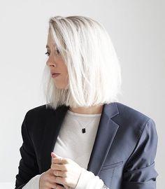 Striking White Hair