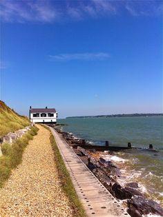 Lepe Beach, Southern England
