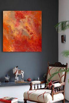 Symphonie en Rouge by Sharon Barfoot: