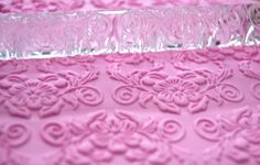 Cold Porcelain  Polymer Clay Embossing Acrylic by AmGiftShoP