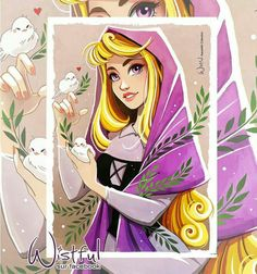 Princess Aurora, the only Disney princess with violet eyes. Princesa Disney Aurora, Disney Princess Aurora, Disney Princess Quotes, Princess Bubblegum, Disney Quotes, Images Disney, Disney Fan Art, Disney Pictures, Disney Artwork