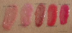 Dior Ultra-Gloss swatches 1