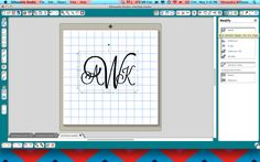 How to make a monogram in Silhouette Studio!