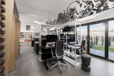 Office Interior Design, Office Interiors, Open Plan, Tours, Workspaces, How To Plan, Architecture, Table, Furniture