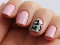 Spektor's Nails: Fancy Pusheen Nails