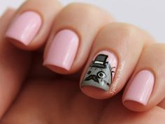 Spektor's Nails: Fancy Pusheen Nails