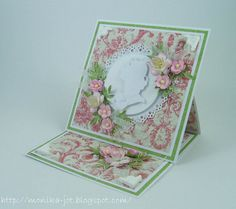 Romantic card by Monia - Cards and Paper Crafts at Splitcoaststampers