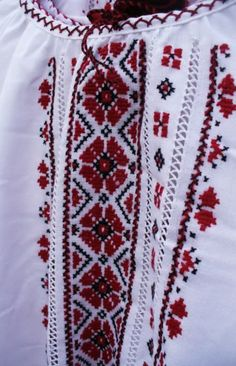 Ukraine, from Iryna Folk Embroidery, Embroidery Fashion, Cross Stitch Embroidery, Embroidery Patterns, 480x800 Wallpaper, Knitting Stitches, Needlework, Christmas Sweaters, Applique