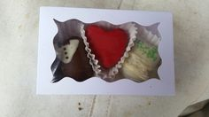 Wedding Souvenir Truffles groom-heart-bride