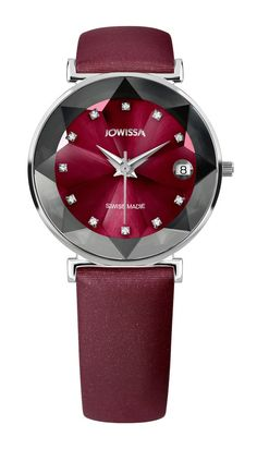 Jowissa Facet ladies watch with cutted glas | Swiss is Good