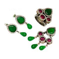 Theia Silver Set & Turkish Wholesale Silver Jewelry #wholesale #silver #jewelry #set #turkish https://www.facebook.com/TheiaSilverJewelry