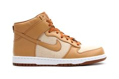timeless design 74633 a7922 Nike Dunk High Acorn First Look  KixandtheCity.com Fresh Sneakers   Pinterest  Nike dunks, Nike and Sneakers