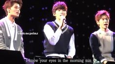"[bloncprinz] 151219 SMROOKIESSHOW ""How Deep Is Your Love"" JAEHYUN focus ..."