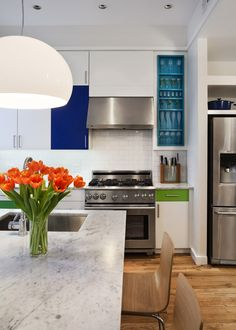 Kitchen Cabinets In Brooklyn 2020 - Home Comforts Patio Kitchen, Outdoor Kitchen Design, Kitchen Decor, Kitchen Ideas, Kitchen Countertop Organization, Kitchen Countertops, Small American Kitchens, Devol Kitchens, How To Install Countertops